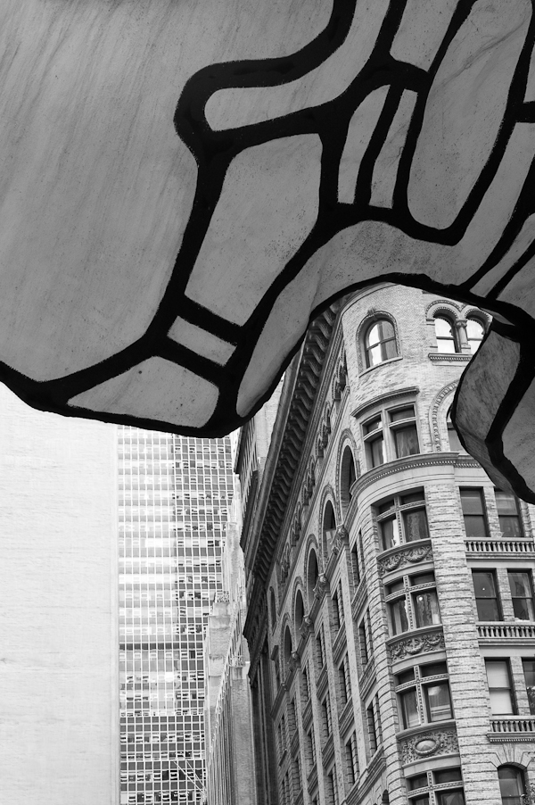 "Jean DuBuffet ""Four Trees"" One Chase Manhattan Plaza"