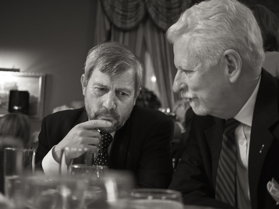 Karl Marlantes and Woody Campbell