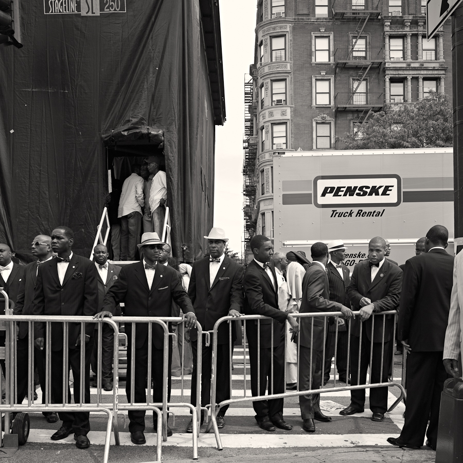 Black Muslims on Lenox Avenue